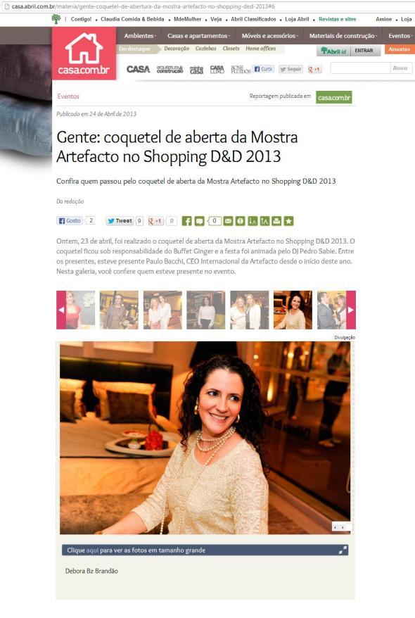Debora Bz Brandao Mostra Artefacto Casa Abril 24 04 2013