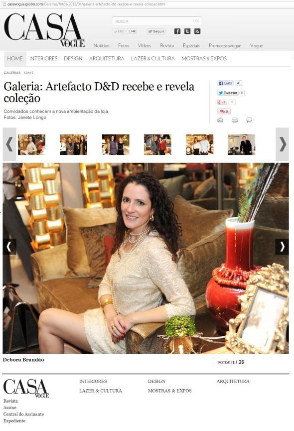 Debora Bz Brandao Mostra Artefacto Casa Vogue 24 04 2013