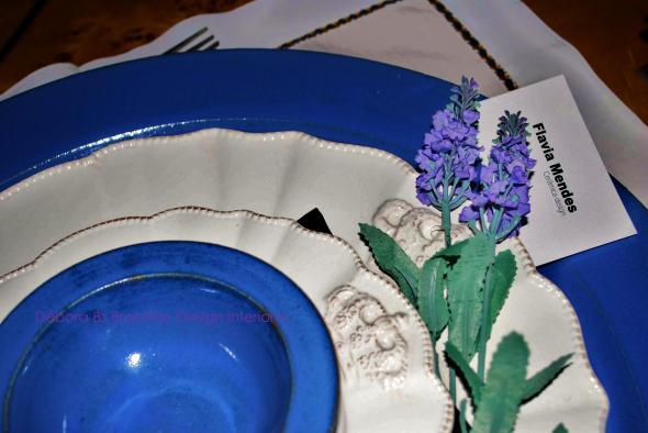 Vitrine Jantar Azul - 11ª Amostra Casa Clássica Antiquario Ravioli Casa Débora Bz Brandão Design Interiores 7b