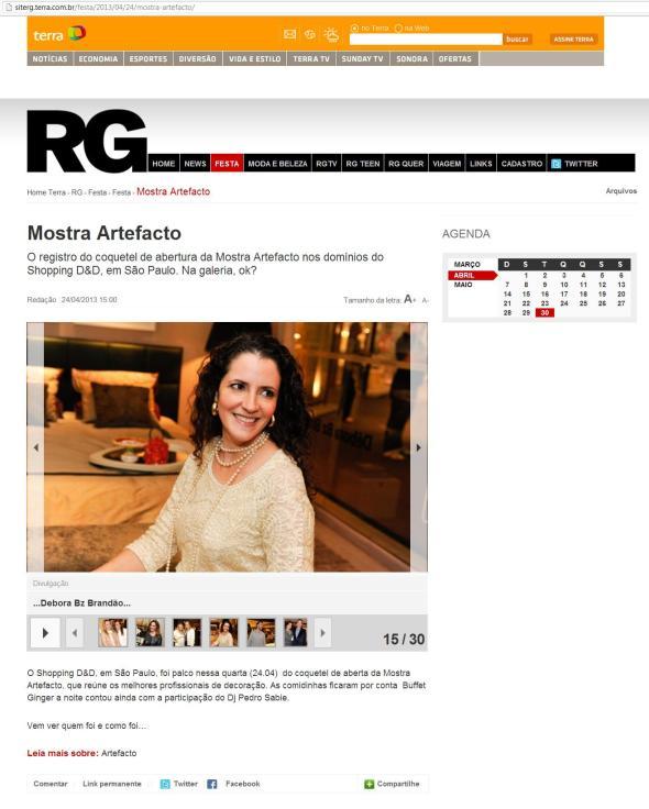 Mostra Artefacto site RG 24 04 2013