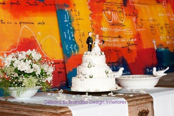Débora Bz Brandão Design Interiores Mesa do bolo