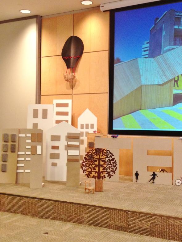 Palco TEDx jardins city 2 0 palco