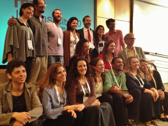 Palco TedxJardinsCity 2 0 Equipe e Palestrantes