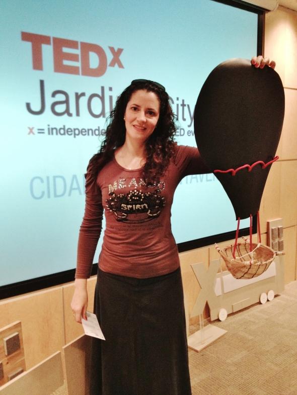 Palco TedxJardinsCity 2 0 Montagem a
