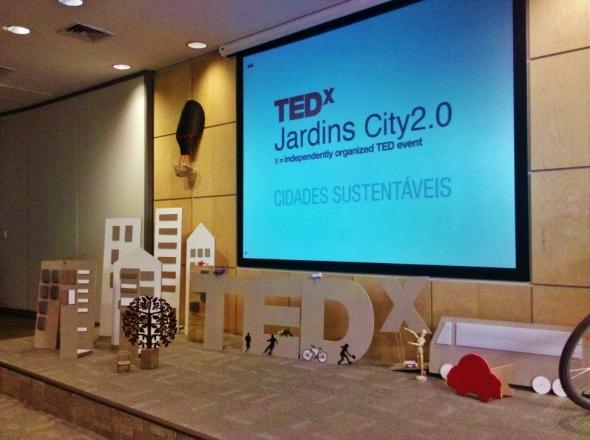 Palco TedxJardinsCity20 09