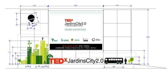 Palco TedxJardinsCity20 Debora Bz Brandao