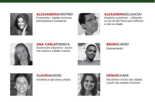 Palestrantes 3 TEDxJardinsCity