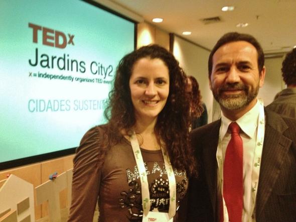 Palestrantes Débora Bz Brandão e Luciano Santos