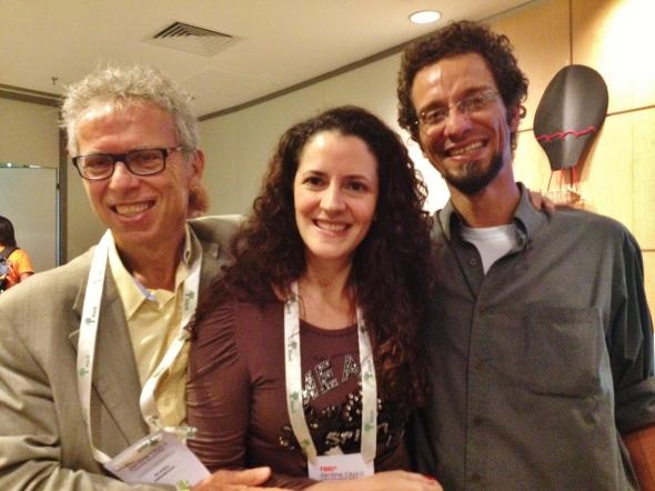 Palestrantes Ricardo Abramovai e Debora Bz Brandao e Marcelo Bressanin