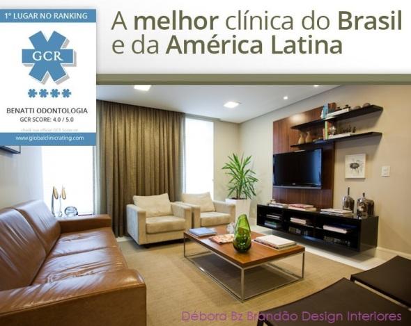 Débora Bz Brandão Design Interiores Melhor Clinica GCR
